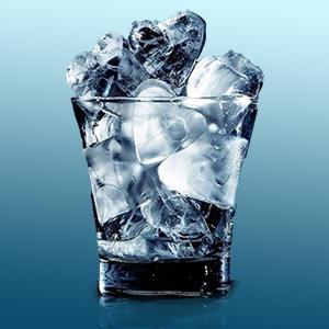 hielo forma corazón