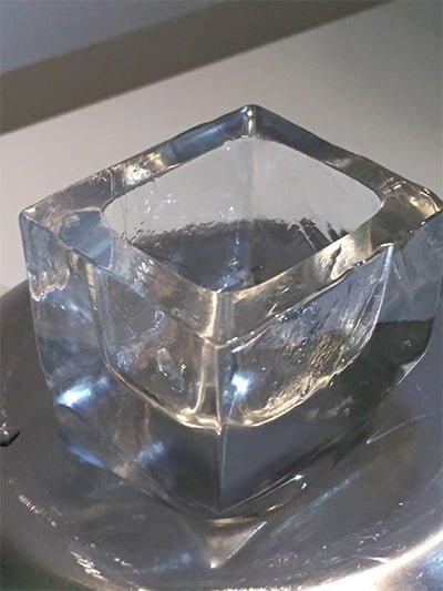 hielo grande chupito