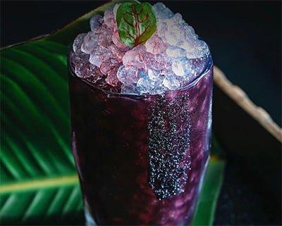 hielo nuget para coctelería