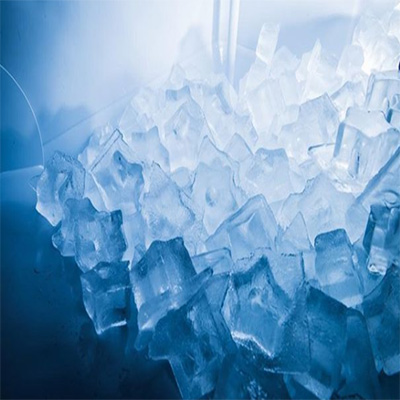 fabricacion de hielo con forma de estrella