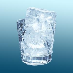 hielo grande